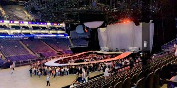 The O2 Arena, secção: 110, fila: S, lugar: 317