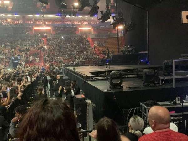 American Airlines Arena, secção: 105, fila: N, lugar: 20