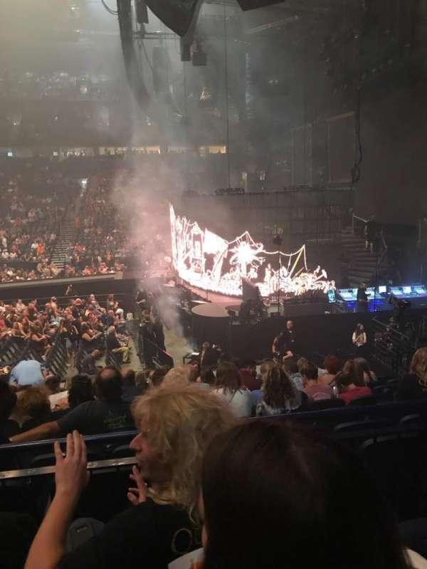 Bridgestone Arena, secção: 107, fila: C, lugar: 14