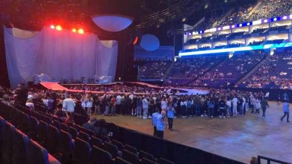 The O2 Arena, secção: 103, fila: G, lugar: 90