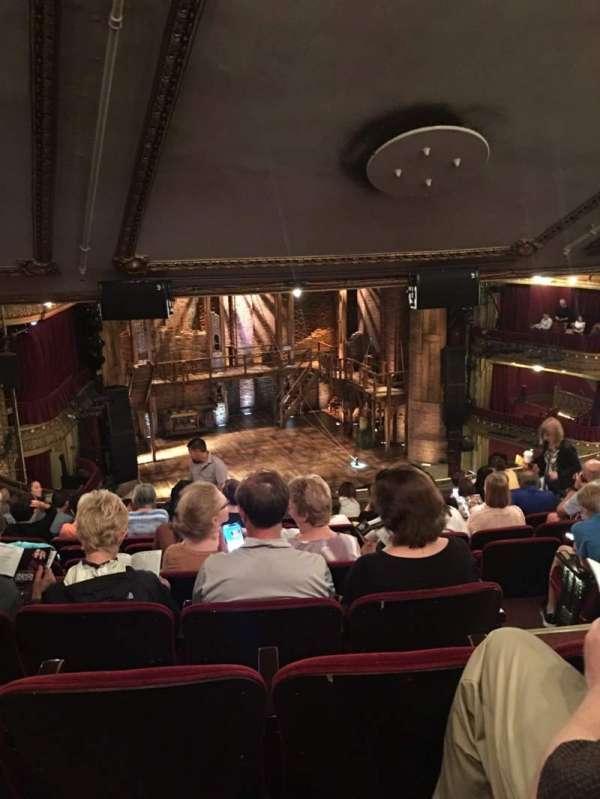CIBC Theatre, secção: Mezzanine L, fila: L, lugar: 7