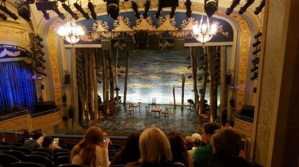 Gerald Schoenfeld Theatre, secção: Mezzanine C, fila: K, lugar: 110