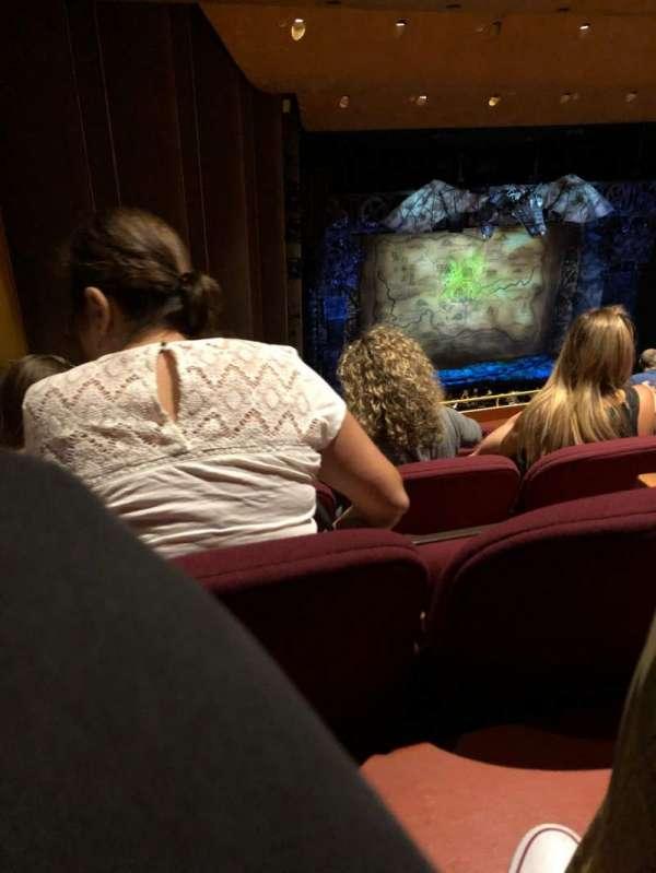 San Jose Center For The Performing Arts, secção: Balcony, fila: 10, lugar: 58