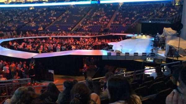 The O2 Arena, secção: 113, fila: Q, lugar: 412