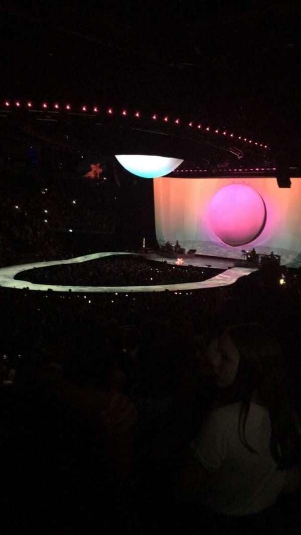 The O2 Arena, secção: 110, fila: S, lugar: 308