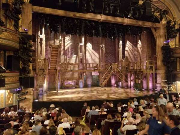 Richard Rodgers Theatre, secção: Orchestra L, fila: N, lugar: 9