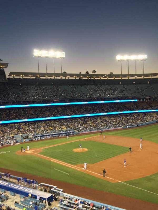 Dodger Stadium, secção: 34RS, fila: A, lugar: 10