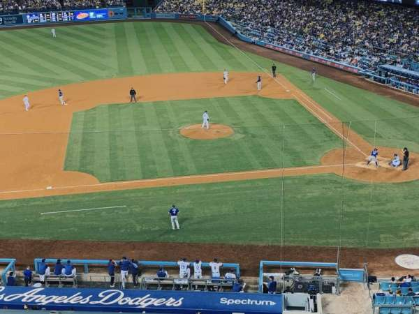 Dodger Stadium, secção: 15RS, fila: B, lugar: 10