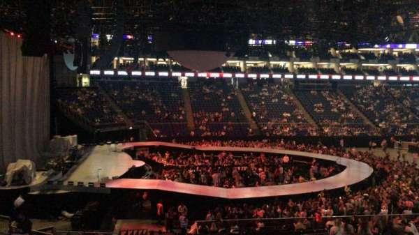 The O2 Arena, secção: D101, fila: ZZ, lugar: 4