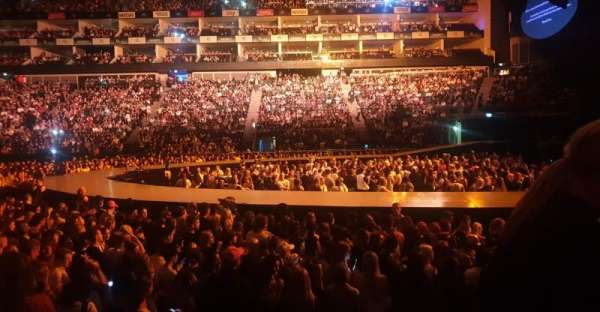 The O2 Arena, secção: 112, fila: F