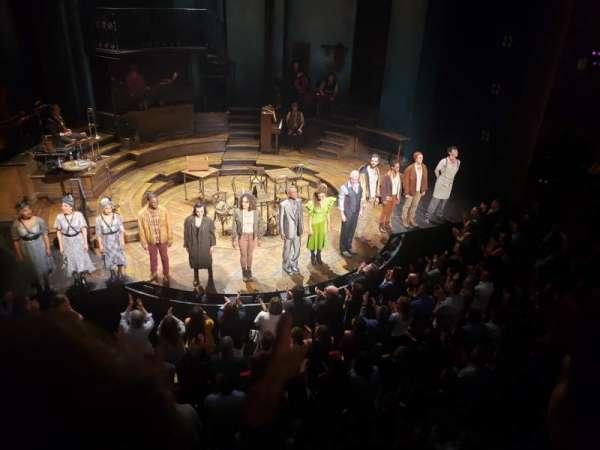 Walter Kerr Theatre, secção: Mezzanine C, fila: B, lugar: 114