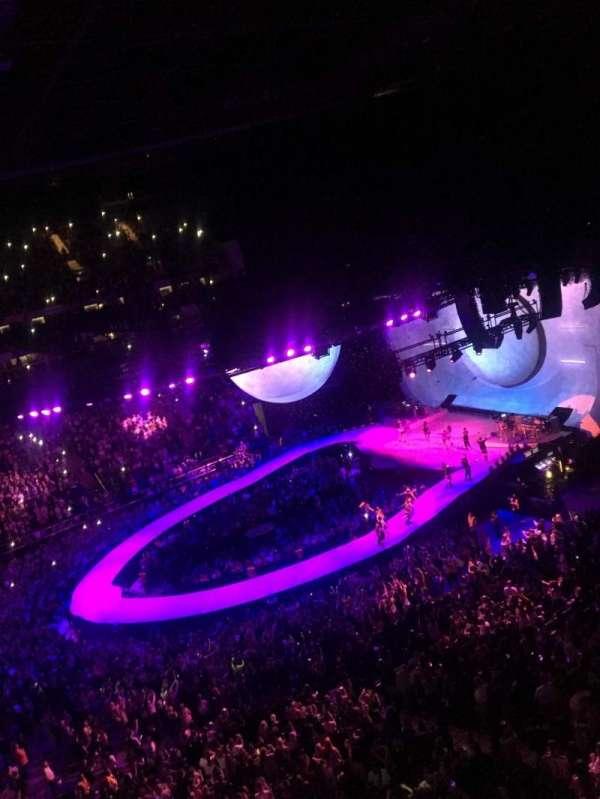 The O2 Arena, secção: 420, fila: A, lugar: 919