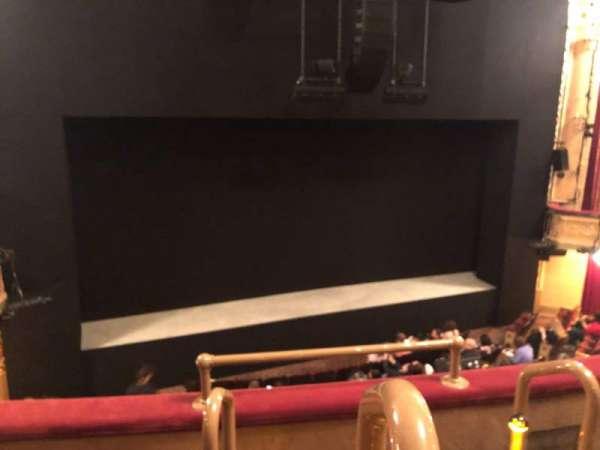 Bernard B. Jacobs Theatre, secção: Mezzanine L, fila: C, lugar: 1
