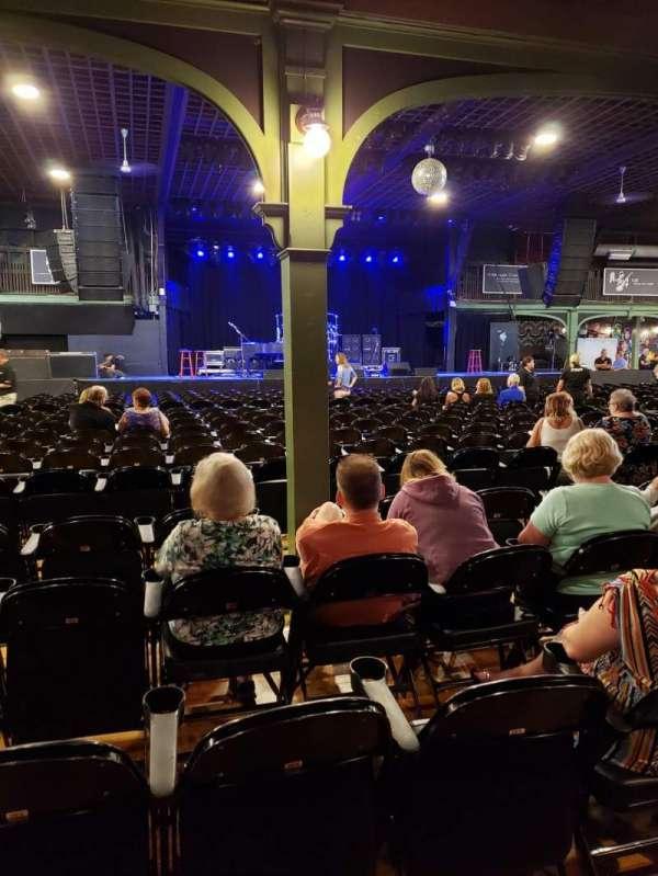 Hampton Beach Casino Ballroom, secção: Center Left Section 2, fila: PP, lugar: 24