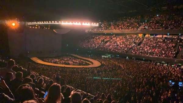 Ziggo Dome, secção: 108, fila: 14, lugar: 300