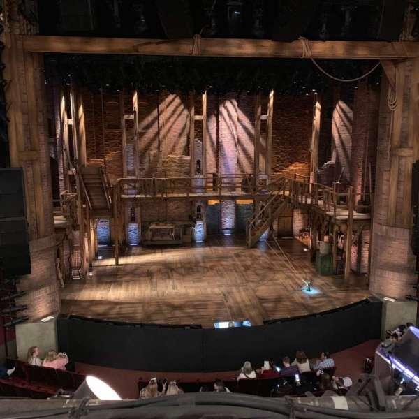 CIBC Theatre, secção: Mezzanine LC, fila: A, lugar: 307