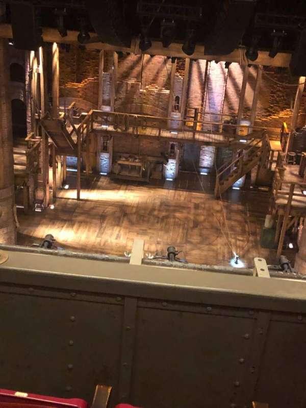 CIBC Theatre, secção: Balcony RC, fila: C, lugar: 406