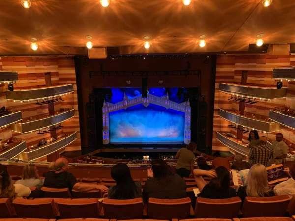 Eccles Theater, secção: 2TC, fila: G, lugar: 7