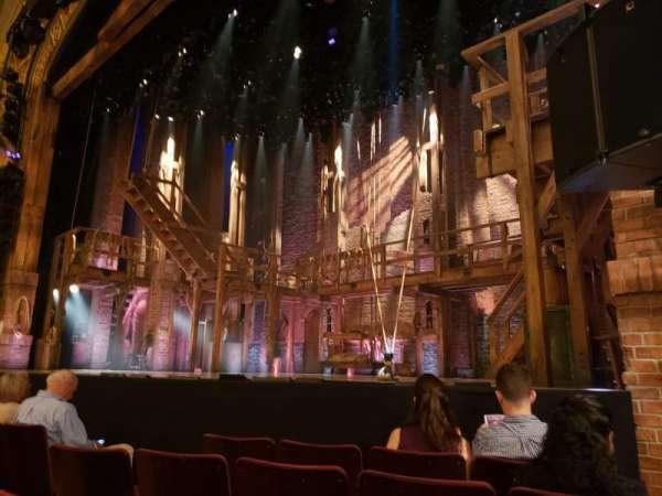 Richard Rodgers Theatre, secção: Orchestra R, fila: D, lugar: 14
