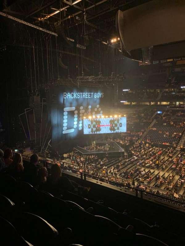 Bridgestone Arena, secção: 217, fila: G, lugar: 3