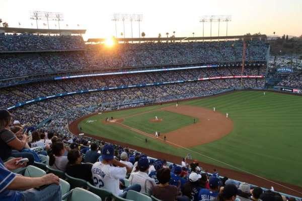 Dodger Stadium, secção: 36RS, fila: V, lugar: 14