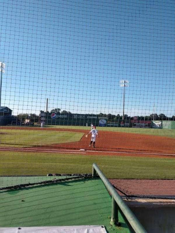 The Ballpark at Jackson, secção: C, fila: 3, lugar: 1