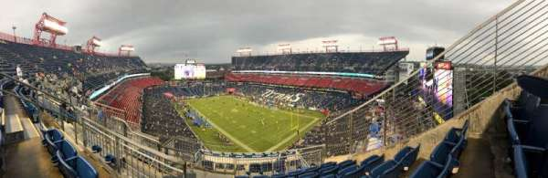 Nissan Stadium, secção: 326, fila: M, lugar: 5