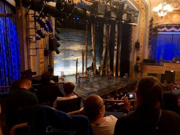 Gerald Schoenfeld Theatre, secção: Mezzanine L, fila: C, lugar: 27