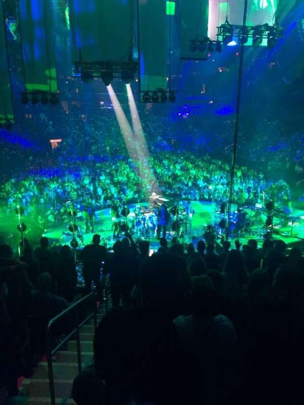 Madison Square Garden, secção: 112, fila: 15, lugar: 1