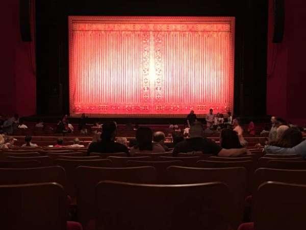 The Kennedy Center Opera House, secção: Orchestra, fila: EE, lugar: 116