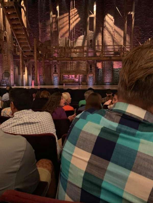 Richard Rodgers Theatre, secção: Orchestra C, fila: F, lugar: 109