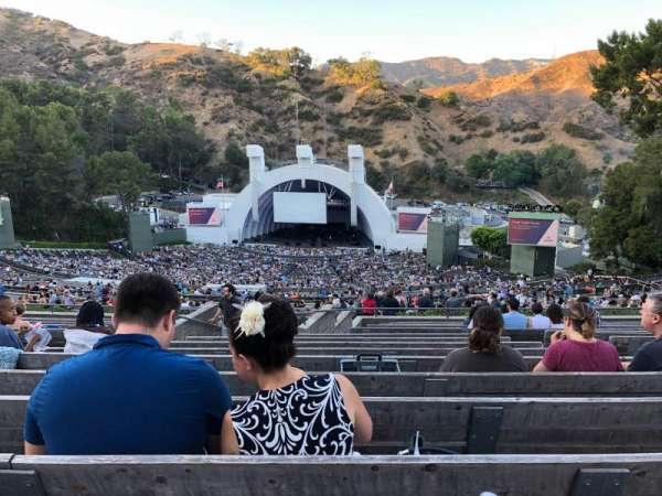 Hollywood Bowl, secção: Q1, fila: 16, lugar: 51