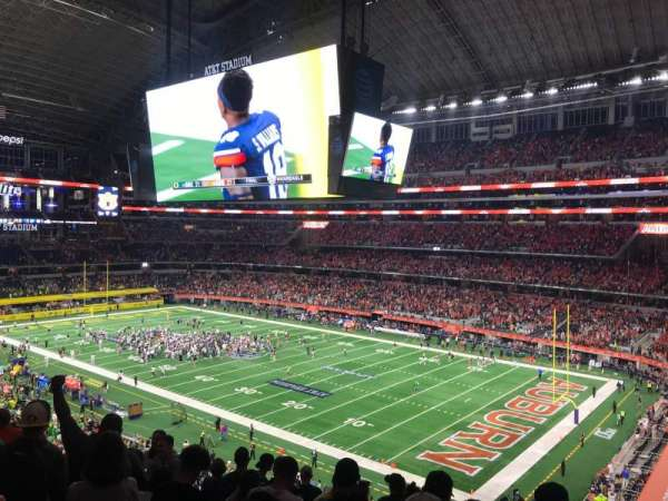 AT&T Stadium, secção: 304, fila: 7, lugar: 7