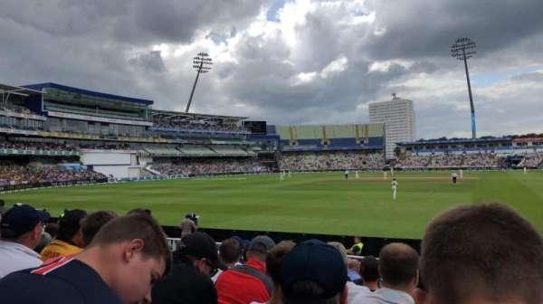 Edgbaston Cricket Ground, secção: 24, fila: M, lugar: 1