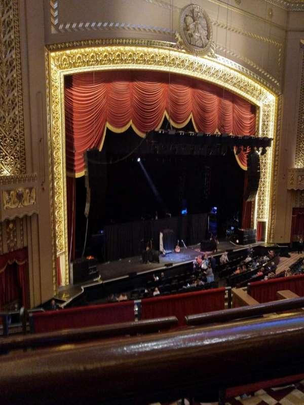 Stifel Theatre, secção: Mezzanine L, fila: A, lugar: 9