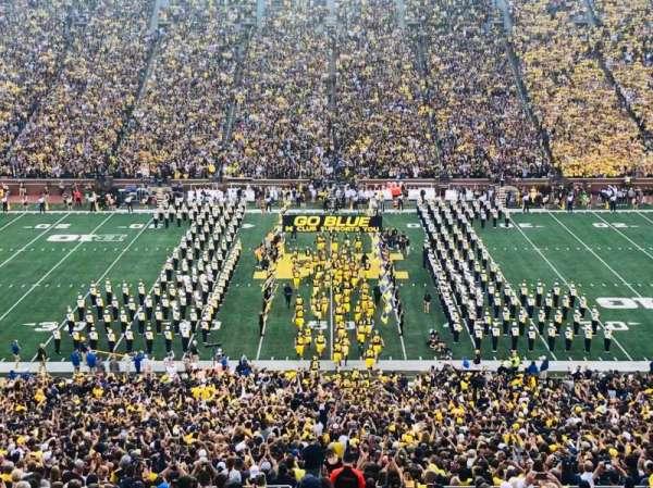 Michigan Stadium, secção: 1, fila: 83, lugar: 14