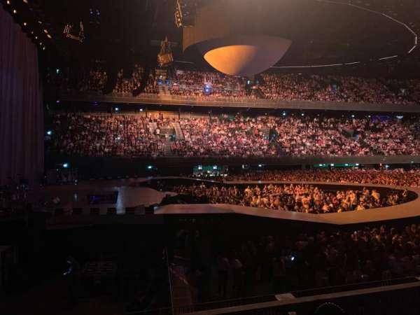 Ziggo Dome, secção: 111, fila: 3, lugar: 401