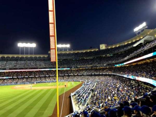 Dodger Stadium, secção: 165LG