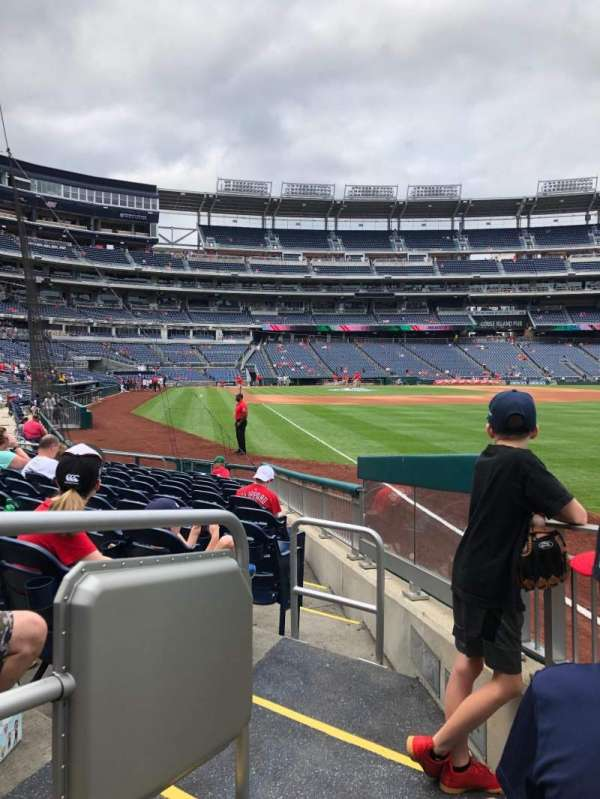 Nationals Park, secção: 137, fila: M, lugar: 23