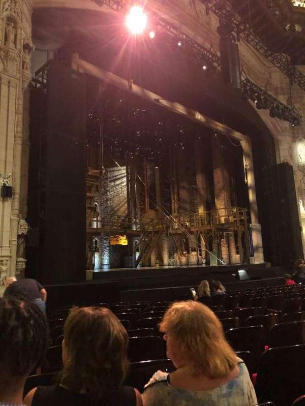 Orpheum Theatre (San Francisco), secção: Orchestra L, fila: M, lugar: 17