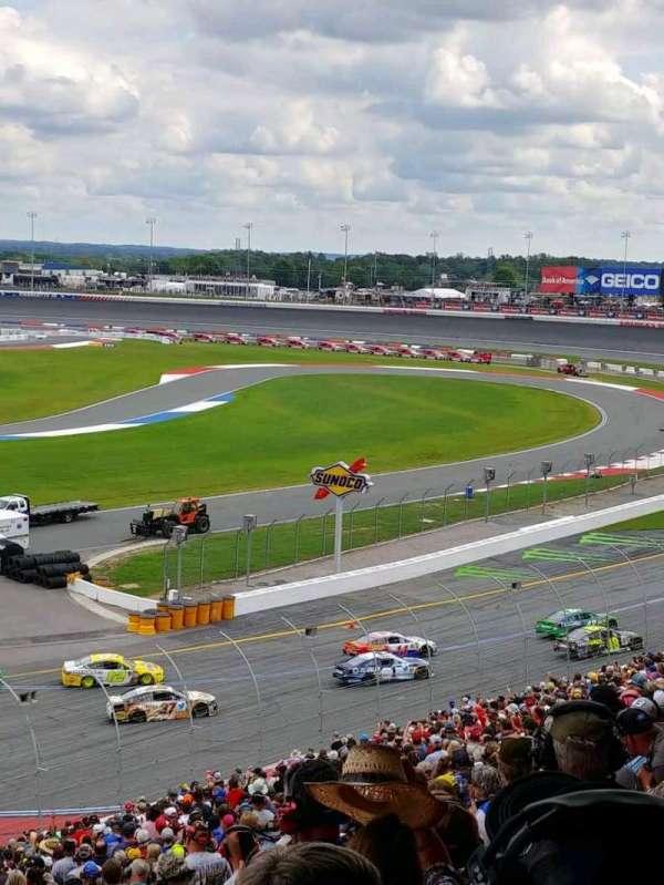 Charlotte Motor Speedway, secção: NVERD, fila: 43, lugar: 12
