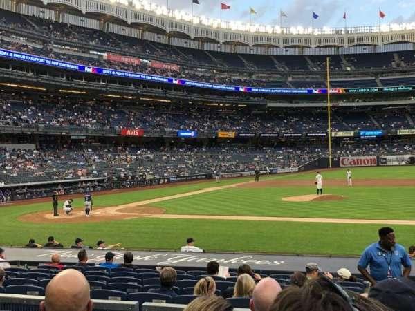 Yankee Stadium, secção: 116, fila: 4, lugar: 5