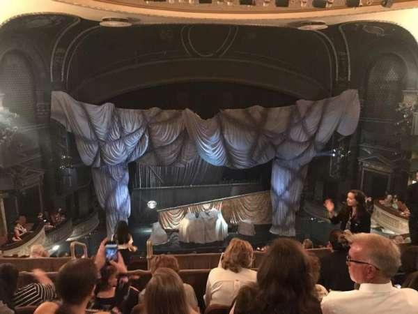 Majestic Theatre, secção: Rear Mezzanine LC, fila: D, lugar: 111