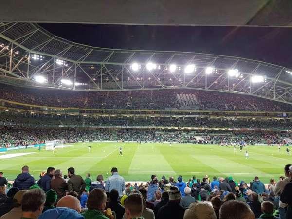 Aviva Stadium, secção: 106, fila: BB, lugar: 25