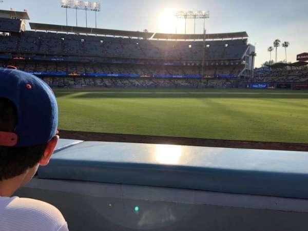Dodger Stadium, secção: 48FD, fila: AA
