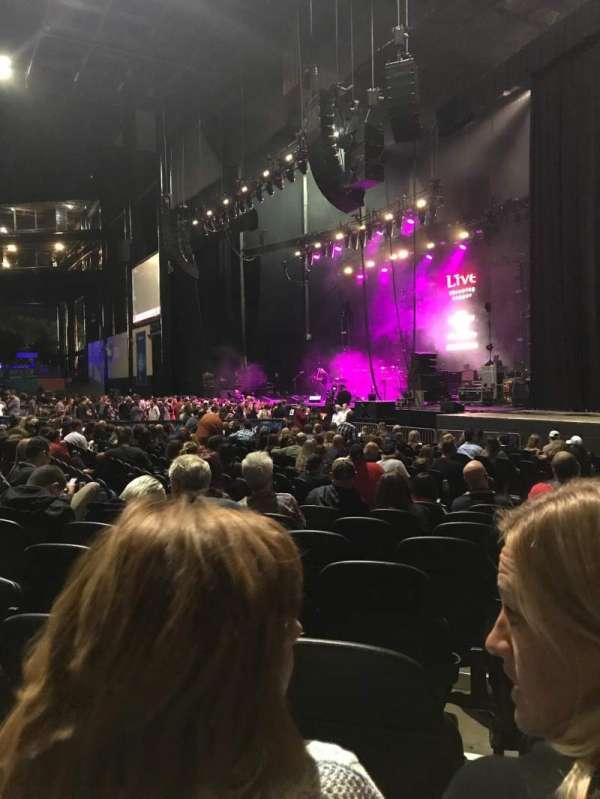 Hollywood Casino Amphitheatre (Tinley Park), secção: 101, fila: Q, lugar: 16