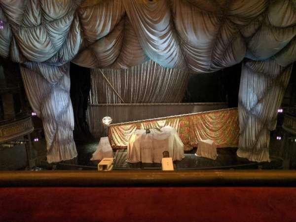 Majestic Theatre, secção: Front Mezzanine C, fila: A, lugar: 108