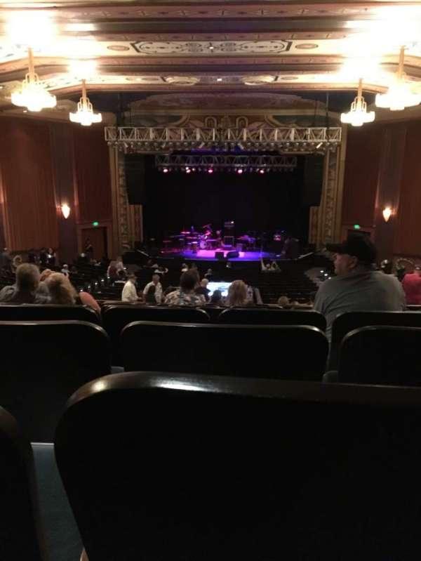 Uptown Theatre, Napa, secção: BALC C, fila: BB, lugar: 107