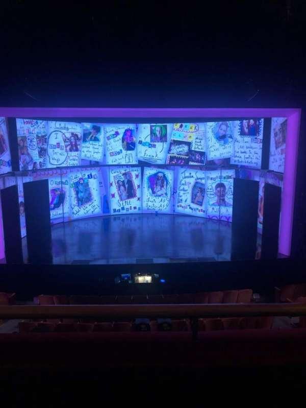 August Wilson Theatre, secção: Mezzanine C, fila: B, lugar: 116