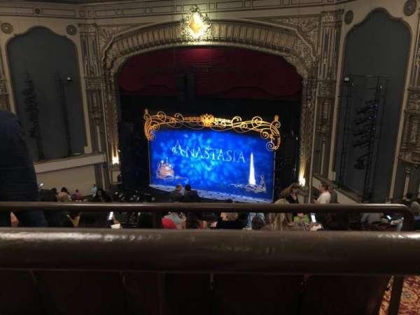 Golden Gate Theatre, secção: Balcony, fila: A, lugar: 8